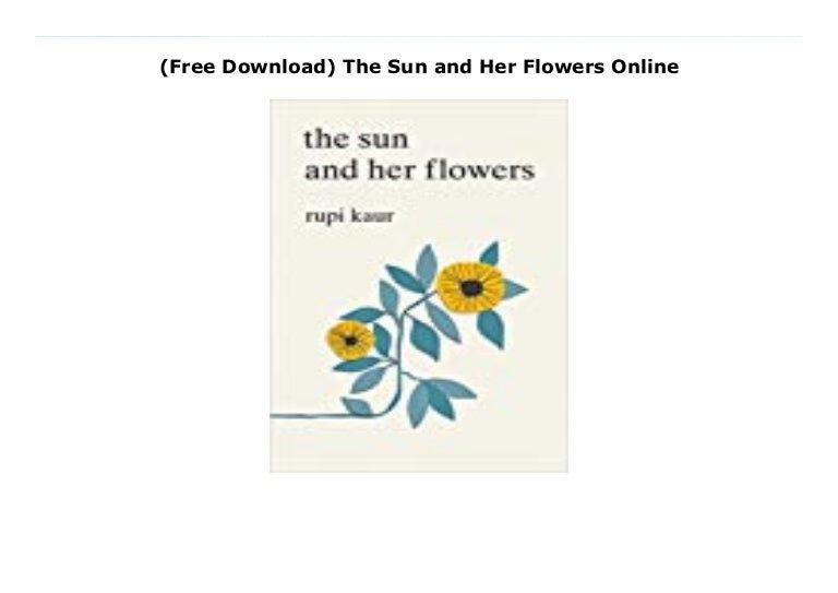 the sun and her flowers free download