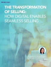 [REPORT PREVIEW] The Transformation of Selling