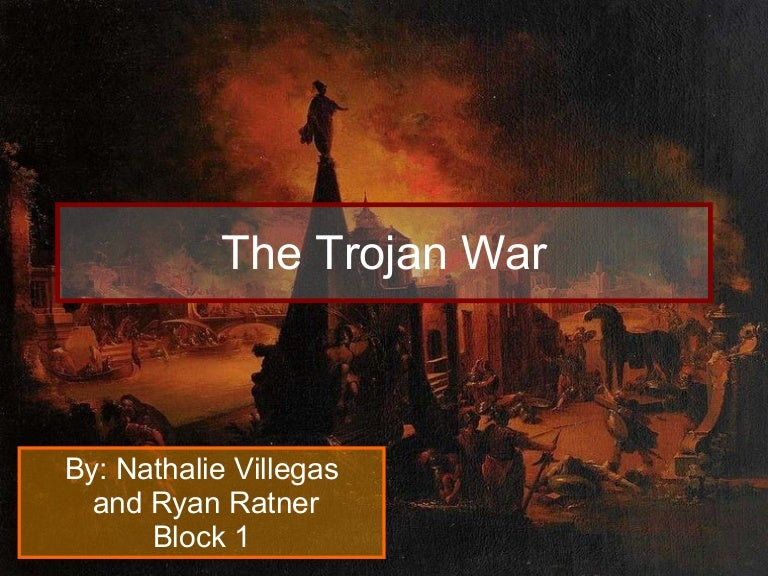 in search of the trojan war essay The trojan war is one of history's most famous conflicts, a ten-year-long war waged over the beautiful helen for more than two thousand years this there are countless interpretive views of the iliad, the trojan war, and the historical epochs within which each was written and/or possibly occurred.