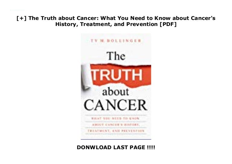 My Own Will: The Truth about CANCER