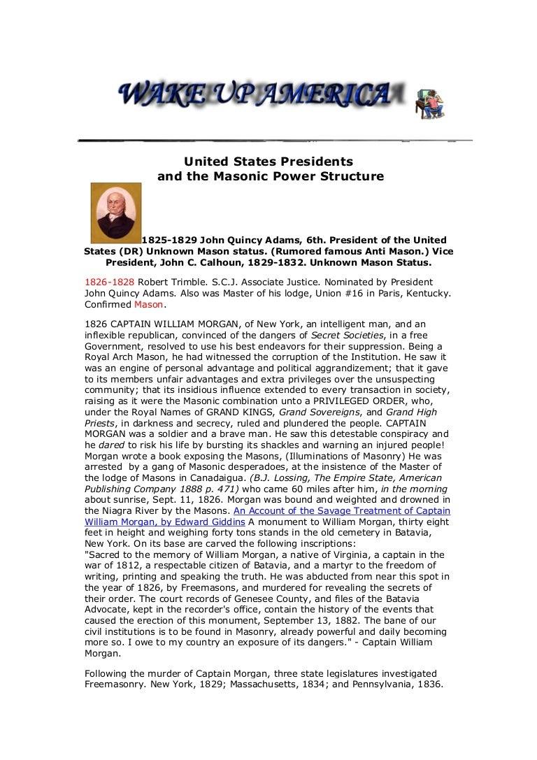 The united states presidents and the illuminati the masonic power s fandeluxe Images