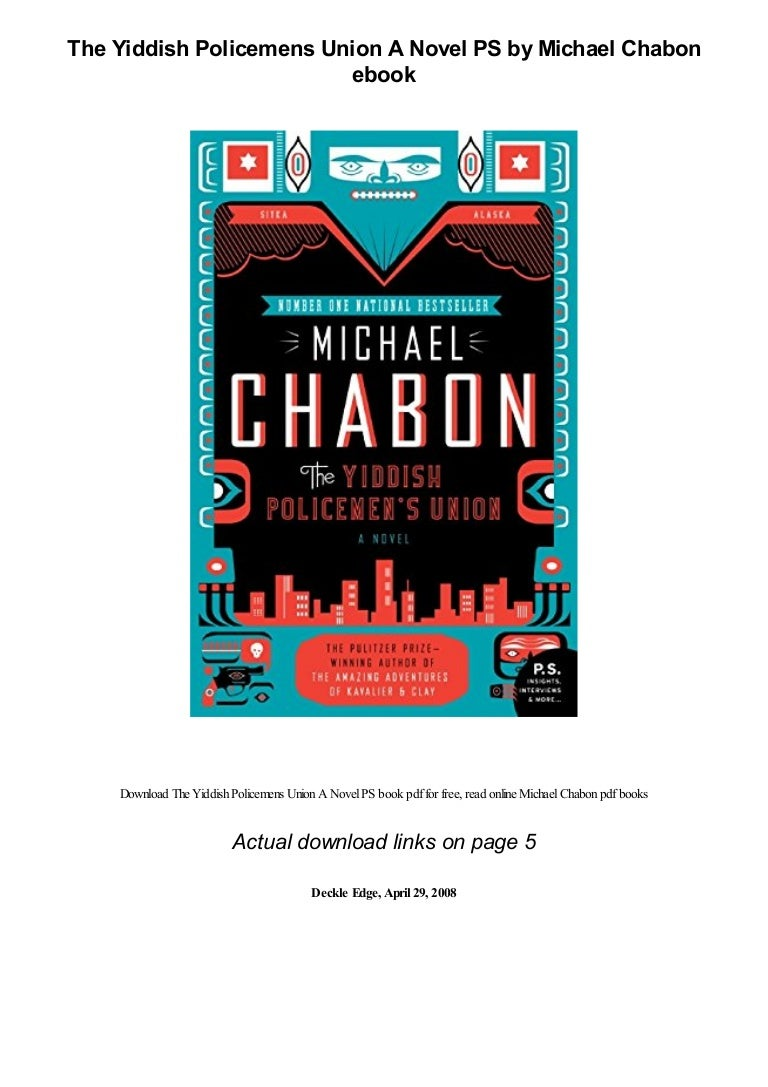 Read The Yiddish Policemens Union By Michael Chabon