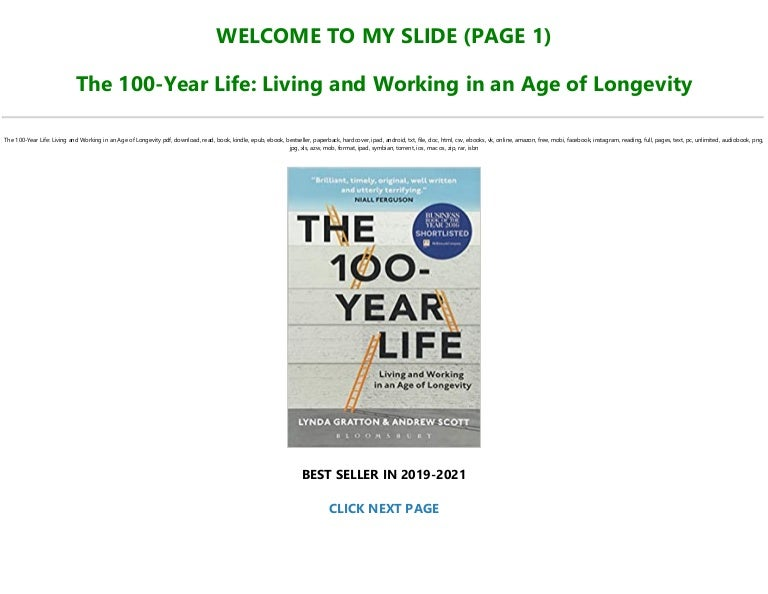Free ~>Free Download The 100-Year Life: Living and Working in an Age of Longevity [Full]