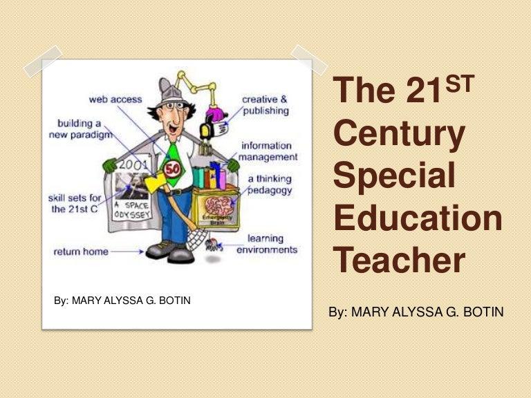 The 21st Century Special Education Teacher