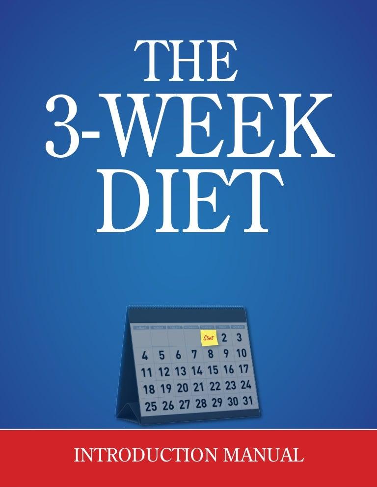 3 week diet plan to lose 5 pounds