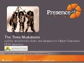 The Three Musketeers and the need for role clarity and allegiance to Higher Educations HCM objectives