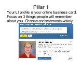 The 7 Pillars Of Your Linked In Success