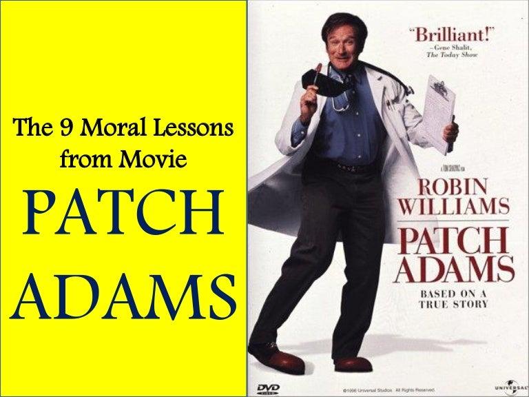 patch adams movie summary