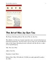 suntzu the art of warfare the first english translation incorporating the recently discovered yinchuehshan texts