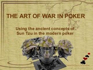 The Art Of War In Poker