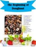 The beginning of doughnut