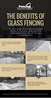 The Benefits of Glass Fencing