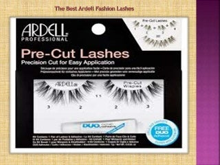 The best ardell fashion lashes