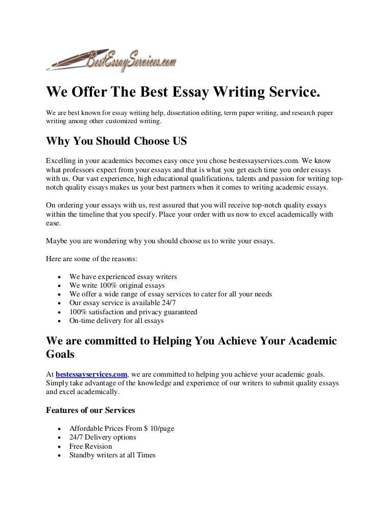 best academic essays