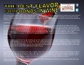 The best flavor compounds in wine