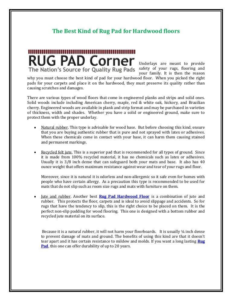 Best Rug Pad For Hardwood Floors buy rectangular ultra premium felt to prevent rug movement great for all floor surfaces The Best Kind Of Rug Pad For Hardwood Floors