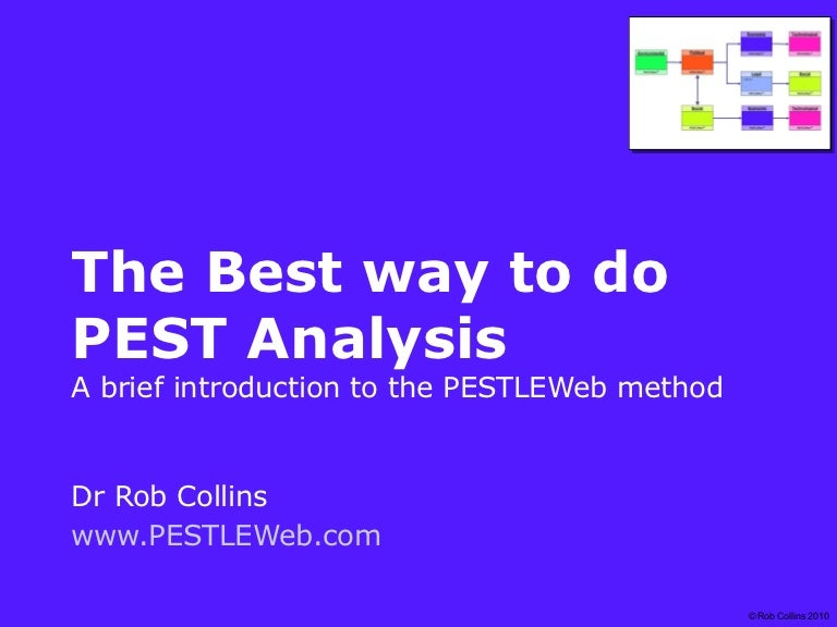 The Best Way To Do Pest Analysis