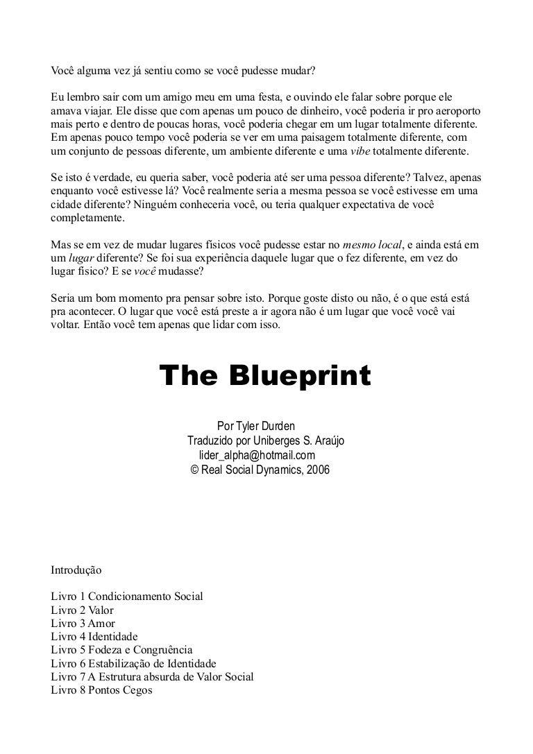 The blueprint tyler durden malvernweather Choice Image
