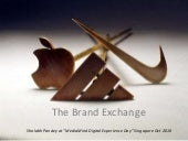 The brand exchange