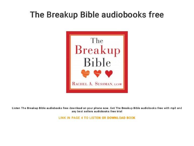 The breakup bible audiobooks free.