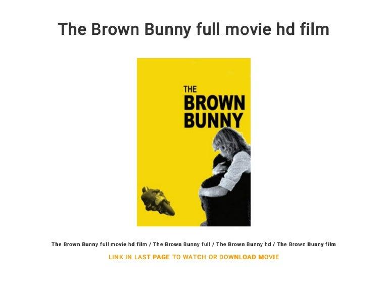 movie clip bunny Brown