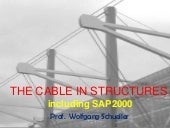 The cable in building structures