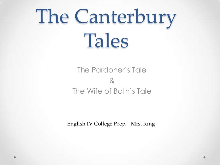 the canterbury tales comparative essay Get help on 【 canterbury tales essay 】 on graduateway huge assortment of free essays & assignments the best writers.