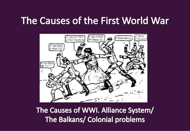 What caused world war 1 essay