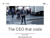 The CEO that code