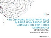 The Changing Mix of What Sells in Print - Jonathan Nowell, Nielsen Book
