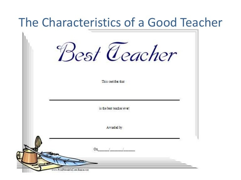 an essay on good and bad teachers in schools Read this full essay on the difference between a good teacher and a bad teacher the good, the bad, and the teachers every kid starts out as a natural-born scientist, and then we beat it out of them a few trickle through the system with their wonder and enthusiasm for science intact.