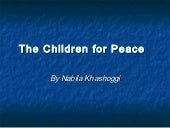 The children for peace by nabila khashoggi