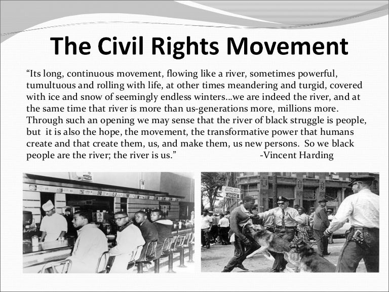 relationship between civil rights movement feminist agenda Born online after the not-guilty verdict in the killing of trayvon martin, and translated to the streets after the killing of michael brown, #blacklivesmatter is an organization, a movement, and a rallying cry for racial justice even as the historic presidency of barack obama comes to an end.