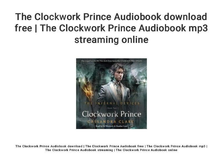 Clockwork Prince PDF Free Download