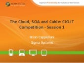 The Cloud SOA and Cable Competition