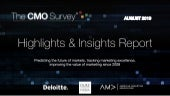The CMO Survey - Highlights and Insights Report - Aug 2019