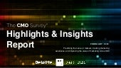 The CMO Survey Highlights and Insights Report - Feb 2019