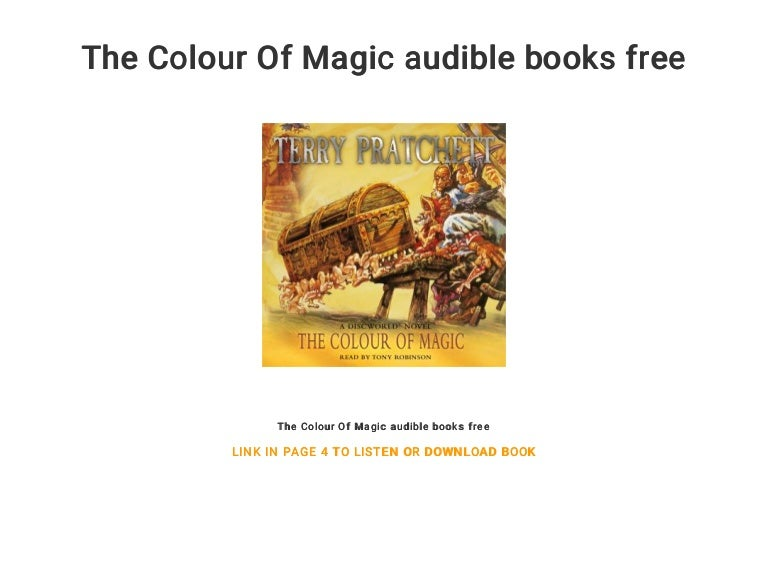 The Colour Of Magic Audible Books Free