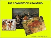 The comment of a painting
