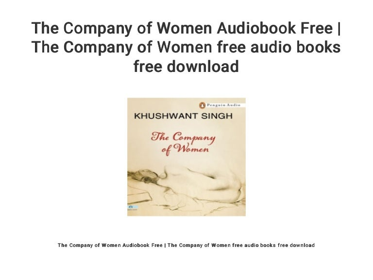 the company of women by khushwant singh free download