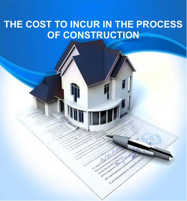 the cost to incur in the process of construction, Modern powerpoint