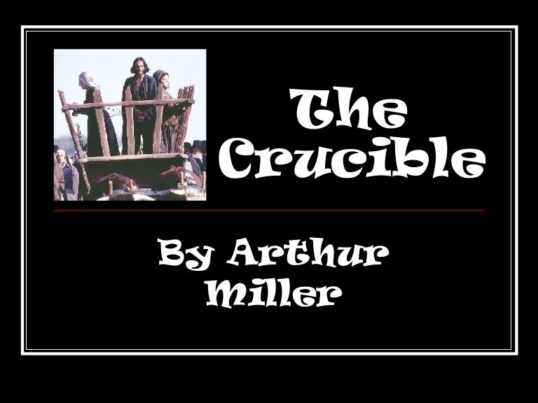 the crucible act one