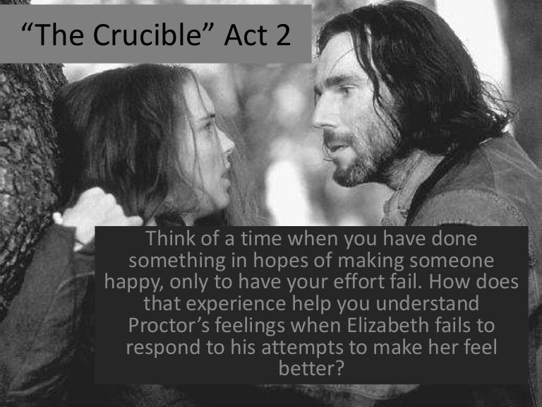 the crucible act two  the crucible act two