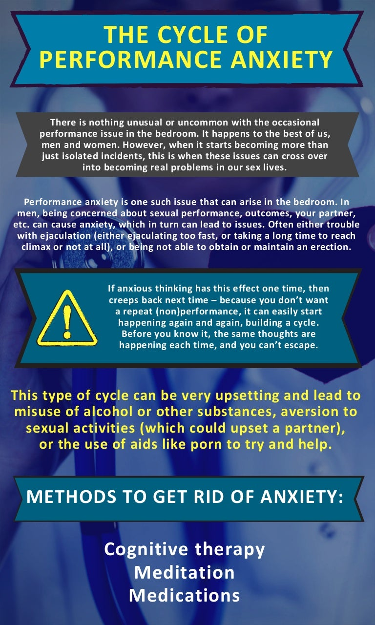 How to get over sexual performance anxiety