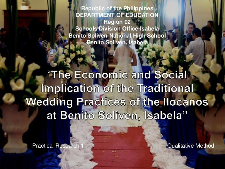 The Economic and Social Implication of the Traditional