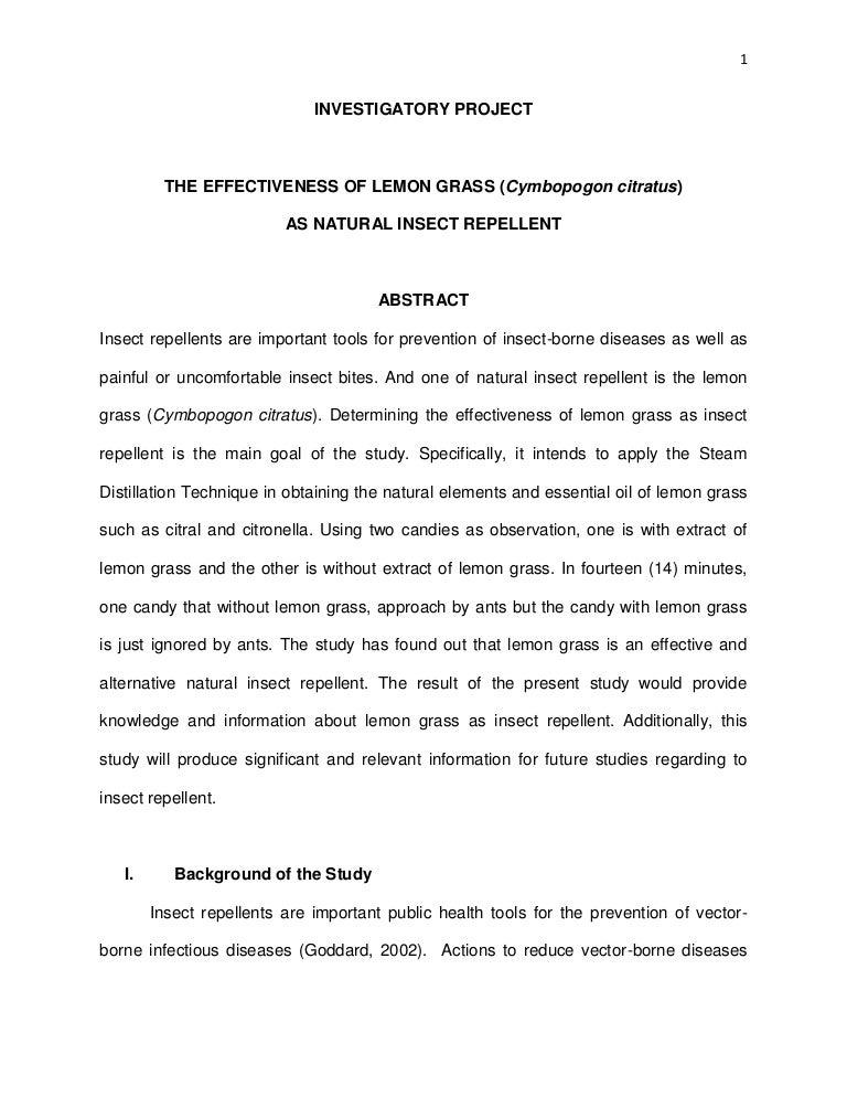 mosquito research pdf