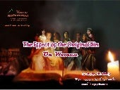 The effect of the original sin on women