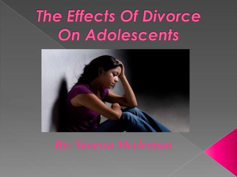teens divorce on Effect of