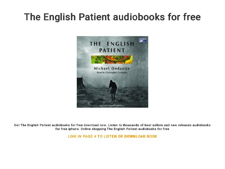 The english patient audiobook free   the english patient free downloa….