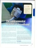 Environmental Benefits of Broadband